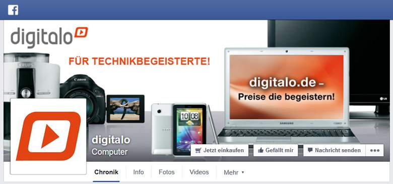 Digitalo bei Facebook