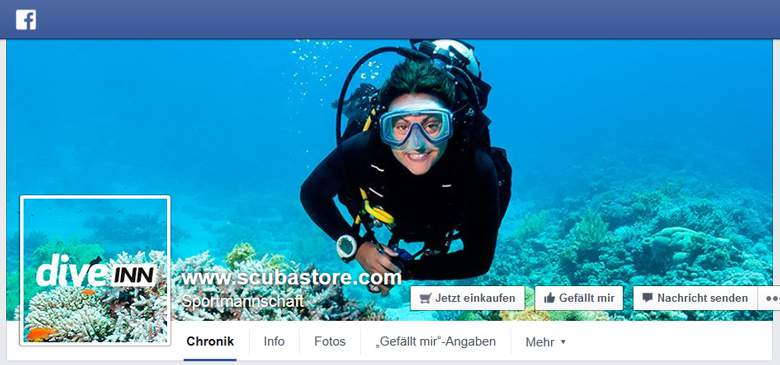 DiveINN bei Facebook