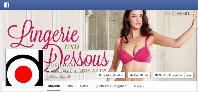 Drunterwelt bei Facebook