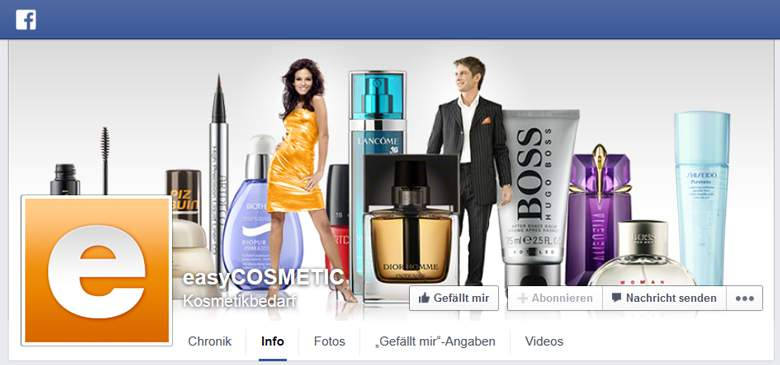 easycosmetic bei Facebook