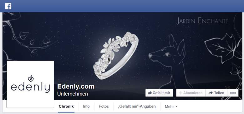 Edenly bei Facebook