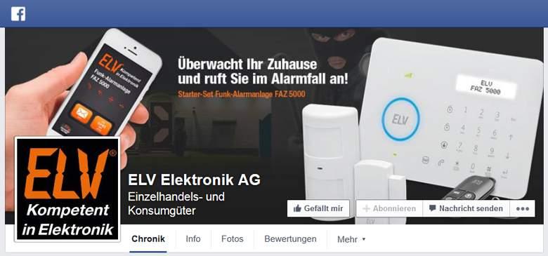 ELV bei Facebook