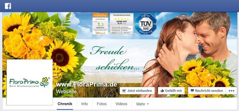 FloraPrima bei Facebook