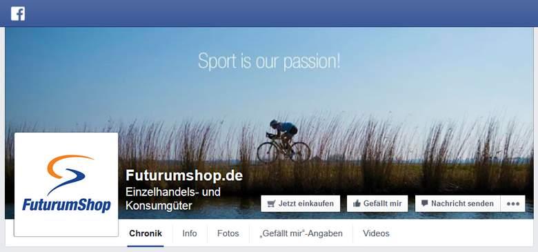 FuturumShop bei Facebook