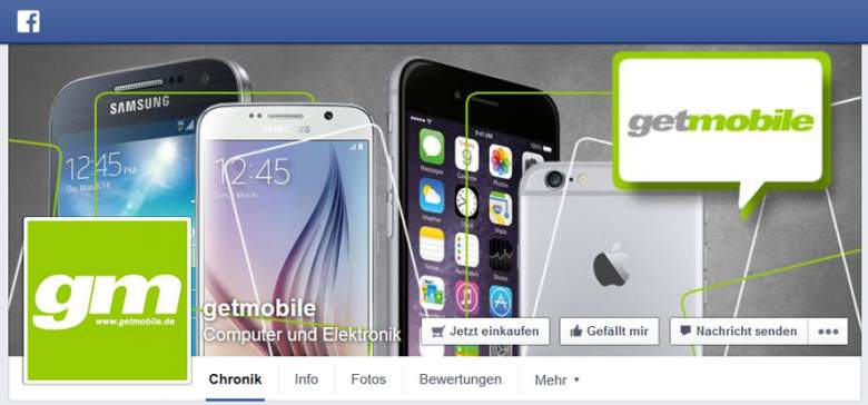 Getmobile bei Facebook