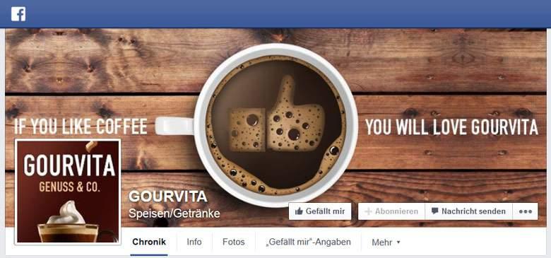 Gourvita bei Facebook