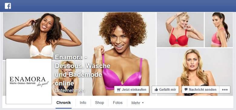 Enamora bei Facebook