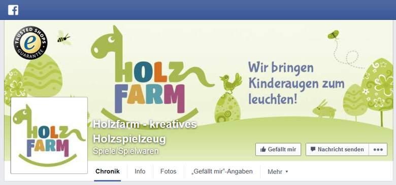 Holzfarm bei Facebook