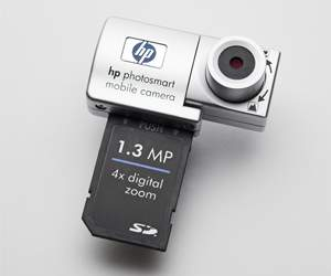 Kamera bei HP