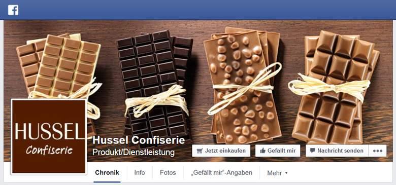 Hussel bei Facebook