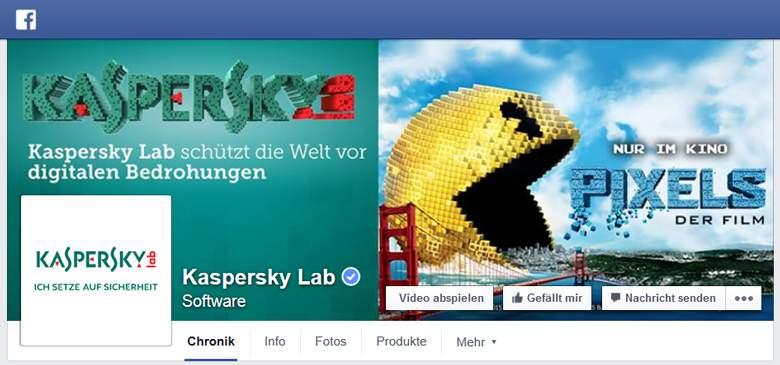 Kaspersky bei Facebook