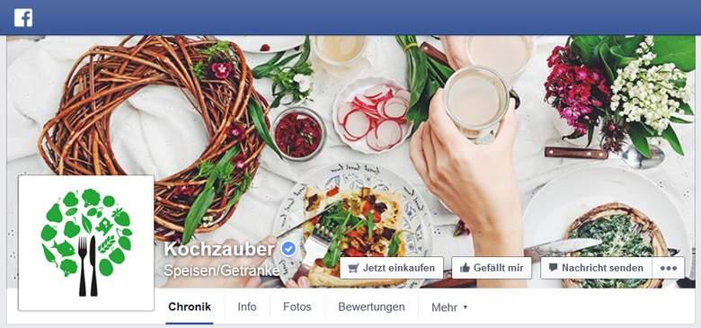 Kochzauber bei Facebook