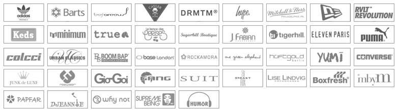 Marken bei Körperstoff