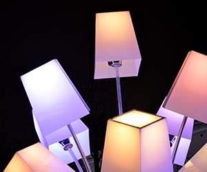 Lampe bei Leuchtenzentrale
