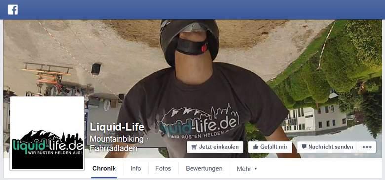 Liquid-Life bei Facebook
