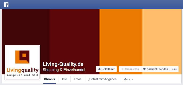 Living Quality bei Facebook