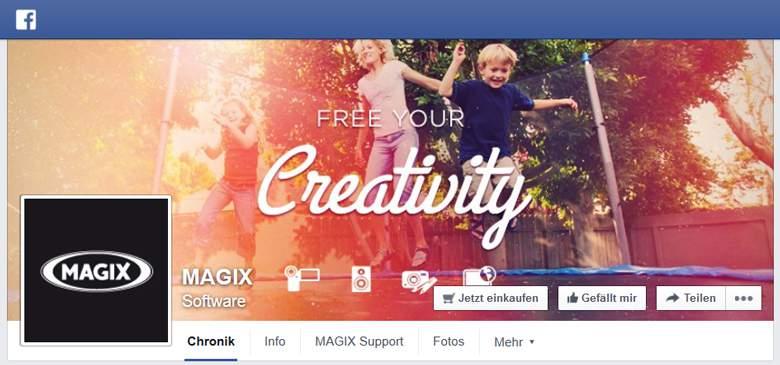 MAGIX bei Facebook