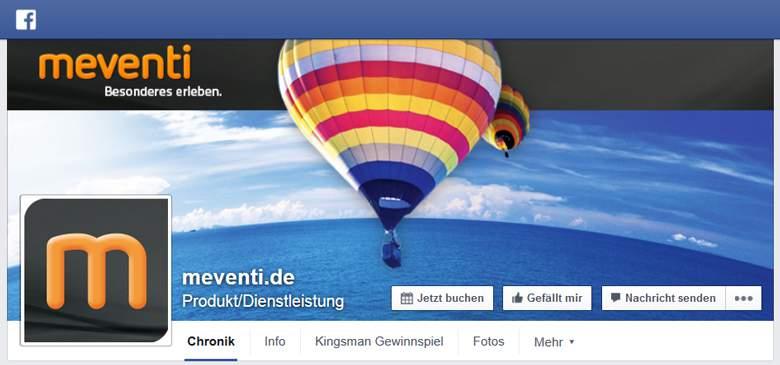 Meventi bei Facebook
