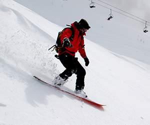Snowboard bei Brunotti