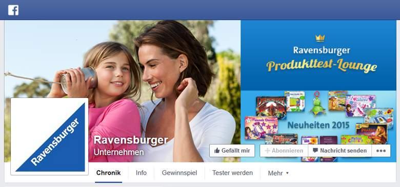 Ravensburger bei Facebook