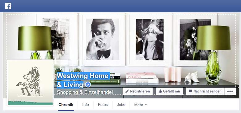 Westwing  bei Facebook
