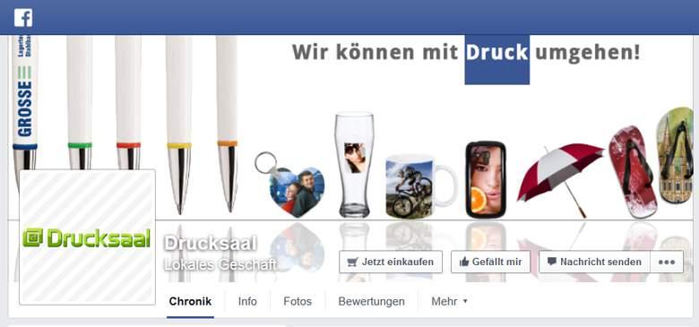 Drucksaal bei Facebook
