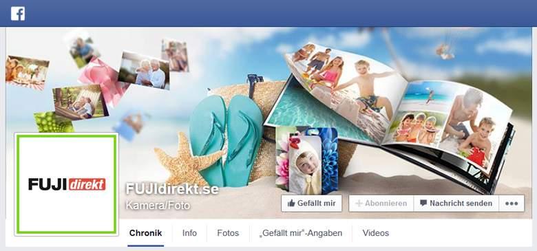 FUJIdirekt bei Facebook