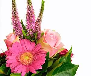 Blumenstrauß bei Valentins