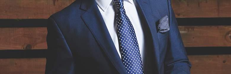 Anzug bei Herrenausstatter