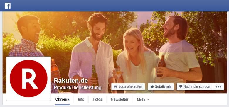 Rakuten bei Facebook