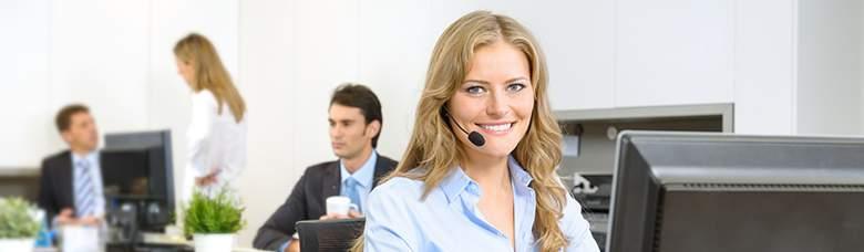 Wir bedrucken mehr Kundenservice