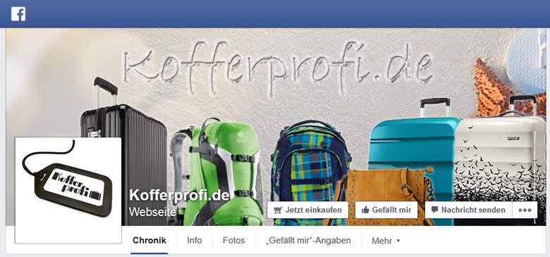 Kofferprofi bei Facebook