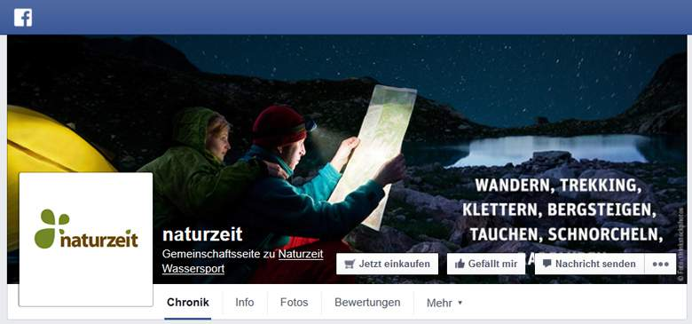 Naturzeit bei Facebook