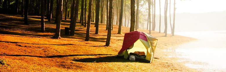Zelt bei Naturzeit