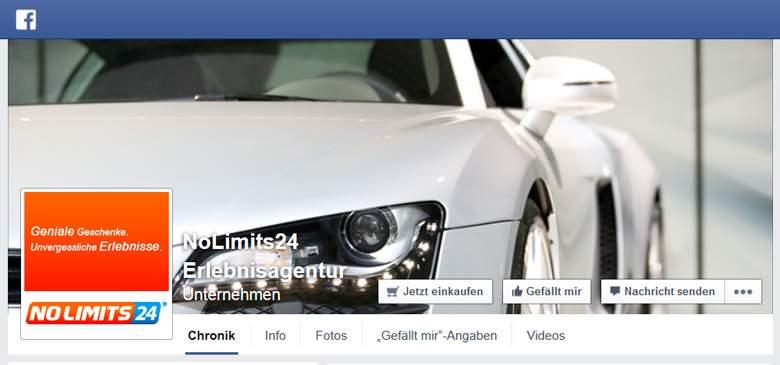 Nolimits24 bei Facebook