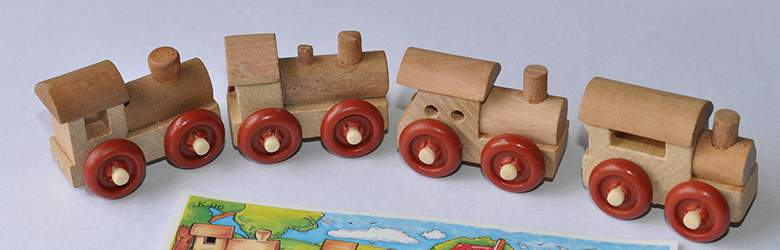 Holzeisenbahn bei Nunon