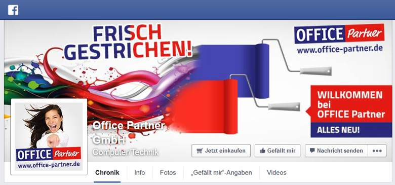 Office Partner bei Facebook