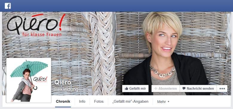 Qiéro bei Facebook