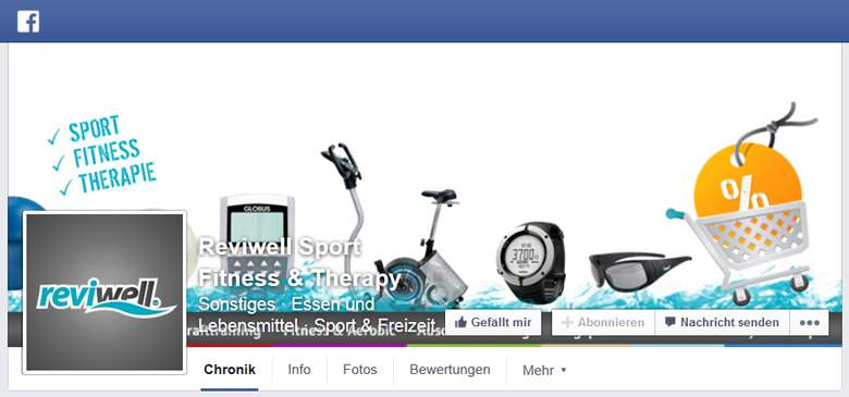 Reviwell bei Facebook