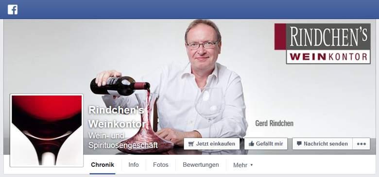 Rindchen bei Facebook