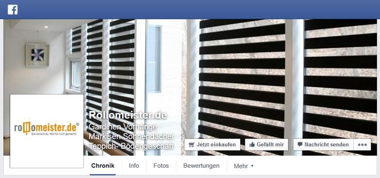 Rollomeister bei Facebook