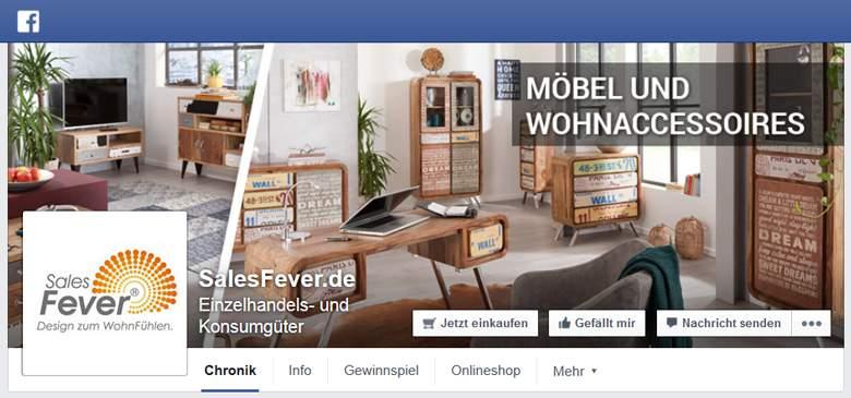 SalesFever bei Facebook