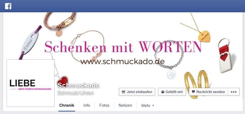 Schmuckado bei Facebook