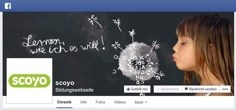 Scoyo bei Facebook