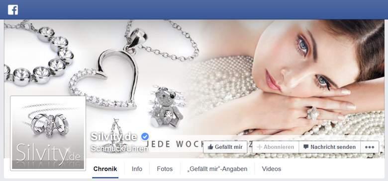 Silvity bei Facebook