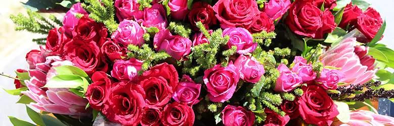 Blumen bei Valentins