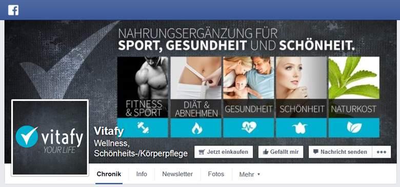 Vitafy bei Facebook