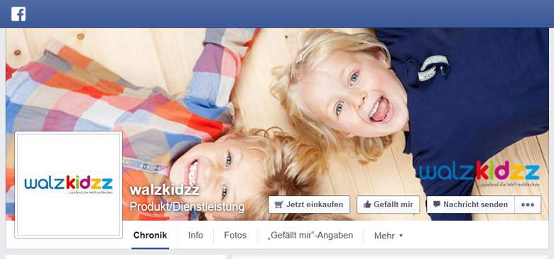 Walzkidzz bei Facebook