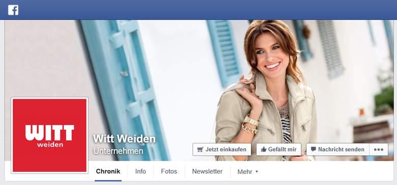 Witt Weiden bei Facebook