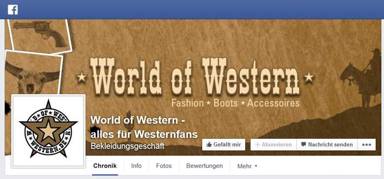 World of Western bei Facebook
